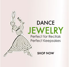 dance jewelry perfect for recitals